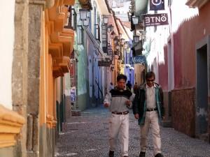 Bolivien La Paz Altstadt Calle Jean
