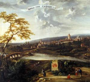 Lichtenau Gemaelde von Carl Ferdinand Fabritius